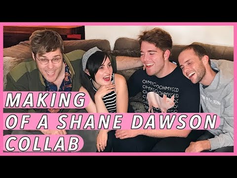 BEHIND THE SCENES OF FILMING WITH SHANE DAWSON!