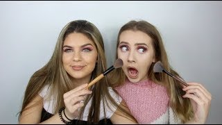 Video SISTER DOES MY MAKEUP! *what is she doing?* MP3, 3GP, MP4, WEBM, AVI, FLV April 2018