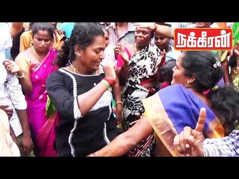 ADMK-supporters-winning-Celebration-Sema-Kuthu-Dance