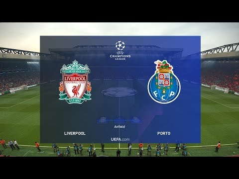Liverpool Vs Porto - Champions League 9 April 2019 Gameplay