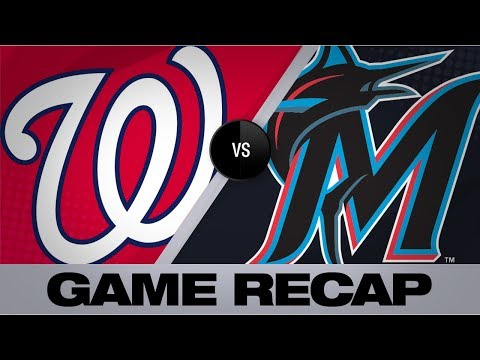 Video: The Nationals score 6 runs in 10th for win | Nationals-Marlins Game Highlights 9/21/19