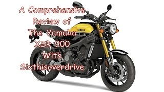 10. 2016 Yamaha XSR 900 Review From Sixthisoverdrive