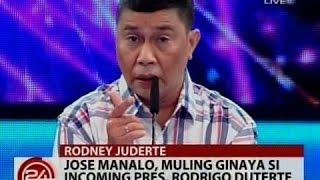 Video 24 Oras: Jose Manalo, muling ginaya si Incoming Pres. Rodrigo Duterte MP3, 3GP, MP4, WEBM, AVI, FLV Februari 2019