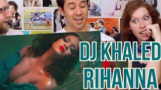 DJ KHALED ft. RIHANNA - WILD THOUGHTS  - REACTION