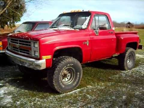87 Chevy Stepside Lifted Http Tube 7s B Com 87 Chevy Lifted