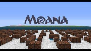 Alessia Cara - How Far I'll Go - Moana [Minecraft Noteblocks]