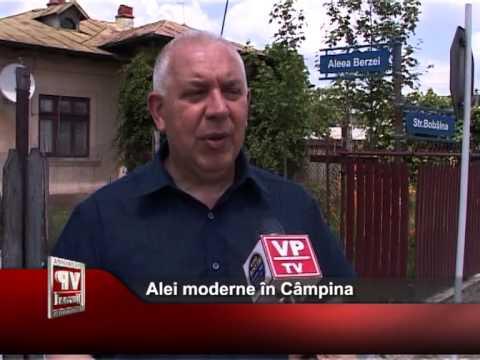 Alei moderne în Câmpina