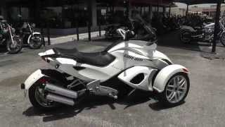 9. 000842 - 2014 Can Am Spyder ST - Used Motorcycle For Sale