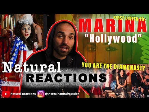 MARINA AND THE DIAMONDS - Hollywood [Official Music Video] REACTION