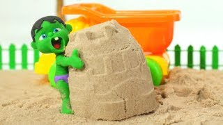 Video Tommy Plays With Sand 💕 Cartoons For Kids MP3, 3GP, MP4, WEBM, AVI, FLV Mei 2019