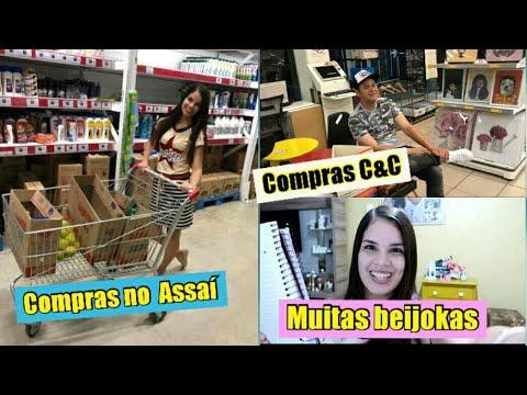 Mensagem de carinho - COMPRAS DO MÊS NO ASSAÍ  C&C  BEIJOKAS PRAS BONITAS