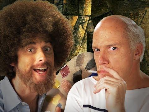 Bob Ross vs Pablo Picasso – Epic Rap Battles of History Season 3.