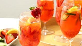 Video Strawberry-Cucumber Gin-Elderflower Spritz - Martha Stewart MP3, 3GP, MP4, WEBM, AVI, FLV Agustus 2019