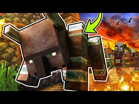 Everything You Need To Know About RAVAGERS In Minecraft!