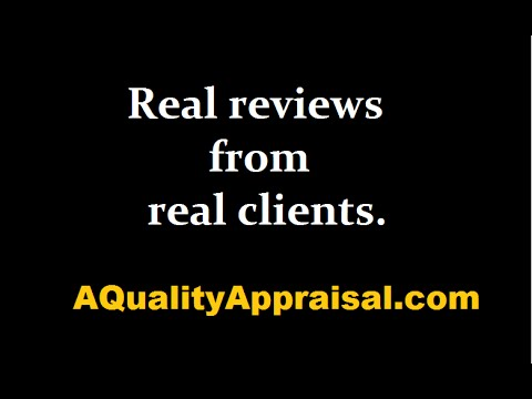 Appraiser REVIEWS in Portland, Oregon   A Quality Appraisal, LLC