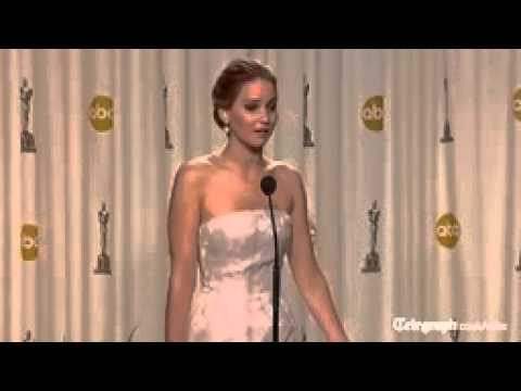 Oscar for the funniest speech goes to