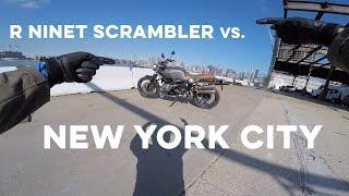 9. MC Commute - 2017 BMW RnineT Scrambler Review in New York City!