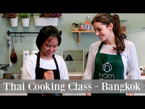Thai Cooking Class In Bangkok | The Best Of Thailand | Pad Thai | Green Curry | Maria Maria