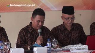 Wihaji Suyono Ditetapkan Sebagai Calon Bupati dan Wakil Bupati Terpilih