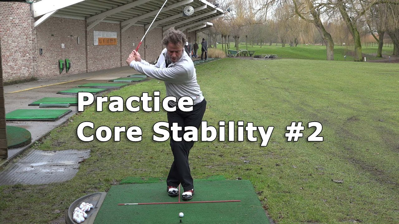 Golf Practice: Upgrade your Core Stability exercise