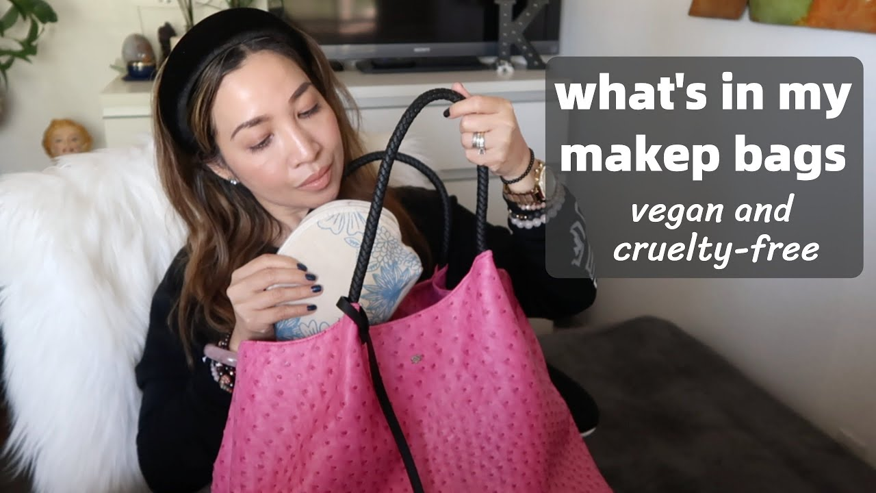 WHAT'S IN MY MAKEUP BAGS | VEGAN & CRUELTY-FREE | thefabzilla