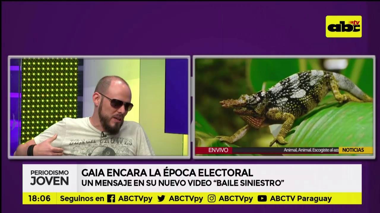 Gaia: rock con mensaje para las elecciones