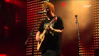 """ED SHEERAN - """"You Need Me But I Don't Need You"""" Live - SWR3 New Pop Festival"""