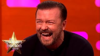 Video RICKY GERVAIS' FUNNIEST MOMENTS on The Graham Norton Show MP3, 3GP, MP4, WEBM, AVI, FLV Oktober 2018