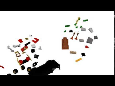 Vidéo LEGO Juniors 10722 : L'attaque du serpent Ningajo