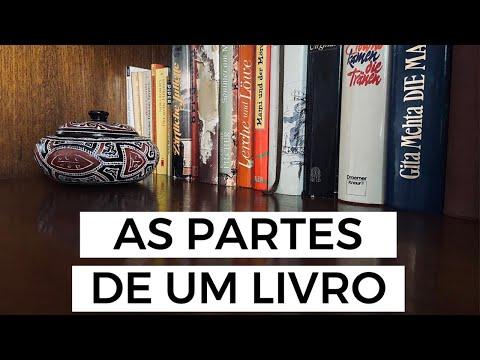 AS PARTES DE UM LIVRO   Laura Brand