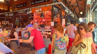 MADRID WALK in San Miguel Market from Plaza Mayor | Spain