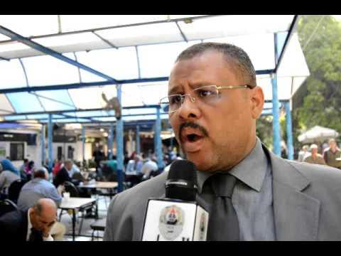 محمود حامد يقدم اوراق ترشحه علي منصب نقيب المحامين