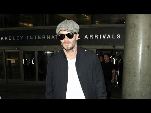 David Beckham Is Silent When Asked Thoughts On Brangelina Split