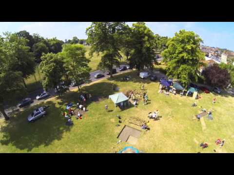 Devizes Archaeology - Phantom with Tarot and GoPro