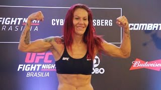 UFC Fight Night 95 Weigh-Ins: Cris Cyborg Makes Weight by MMA Fighting