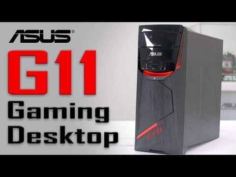 ASUS G11 Gaming Desktop Overview