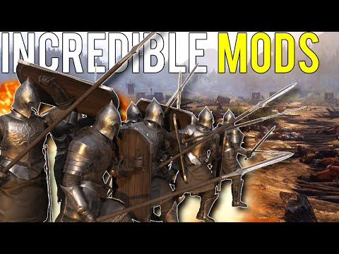 3 INCREDIBLE MODS Coming To Mount and Blade II Bannerlord