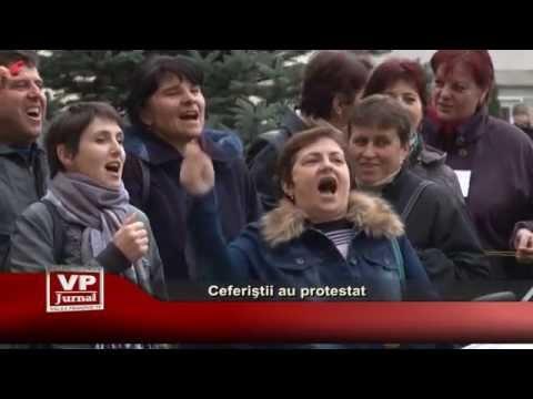 Ceferistii au protestat