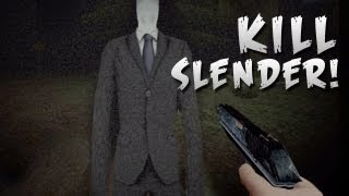 How To: KILL SLENDER MAN! - Slender Woods - Part 2