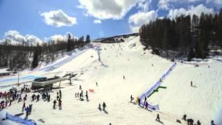Fernie & Kimberley Alpine Resort Time Lapse 2012
