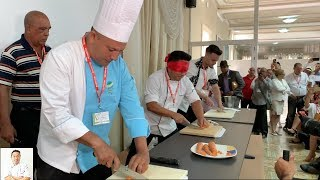 Hiro VS Cuba | Fast Cutting Challenge and Pop Up Dinner by Diaries of a Master Sushi Chef