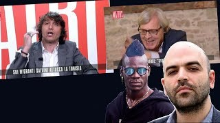 Video Cruciani e Sgarbi contro Balotelli e Saviano MP3, 3GP, MP4, WEBM, AVI, FLV Juli 2018