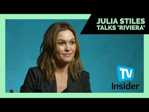 Julia Stiles Talks About 'Riviera' | TV Insider | TCA 2019