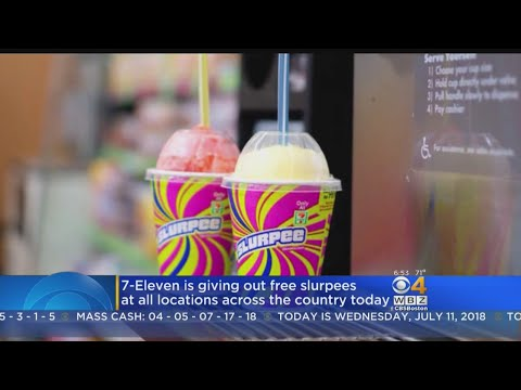 7-Eleven Giving Out Free Slurpees On July 11