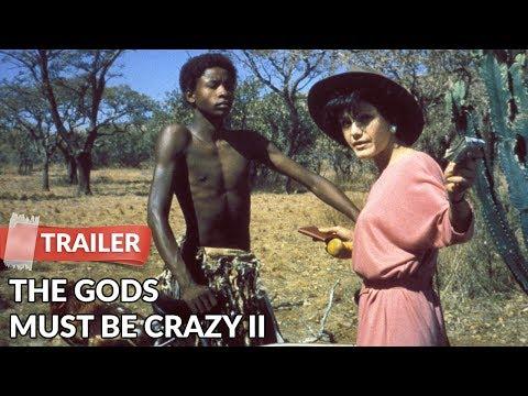 The Gods Must Be Crazy II (1989) Trailer   Hans Strydom   Lena Farugia