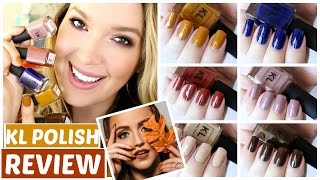 KathleenLights KL POLISH Review + Swatches | JennyClaireFox