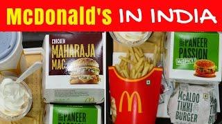 Video McDonald's in India | Eating Indian McDonalds menu taste test in Kolkata MP3, 3GP, MP4, WEBM, AVI, FLV Januari 2018