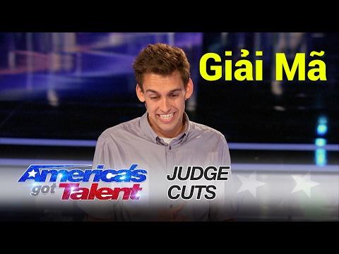 Giải mã ảo thuật ăn tiền đổi góc của Blake Vogt tại America's Got Talent 2016