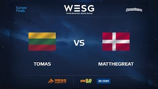 MatTheGreat vs Tomas, game 1