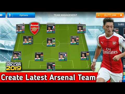 How To Create Arsenal Team In Dream League Soccer 2019